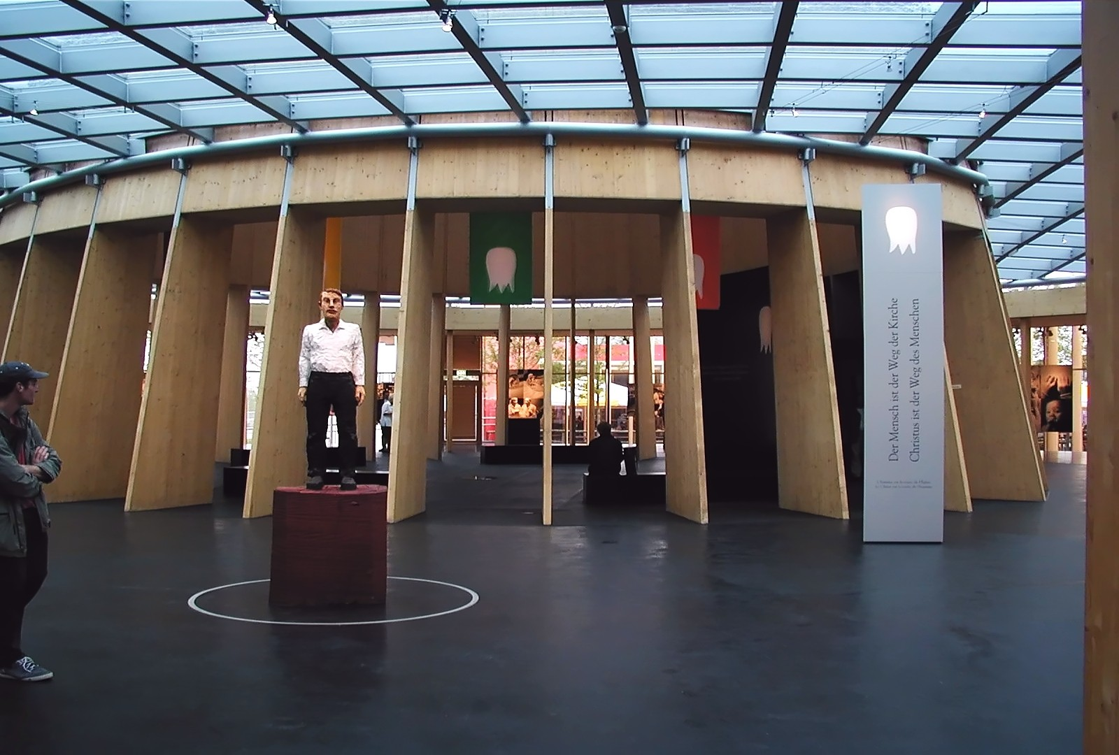 Exhibition Display Design : Exhibition design vatican pavilion